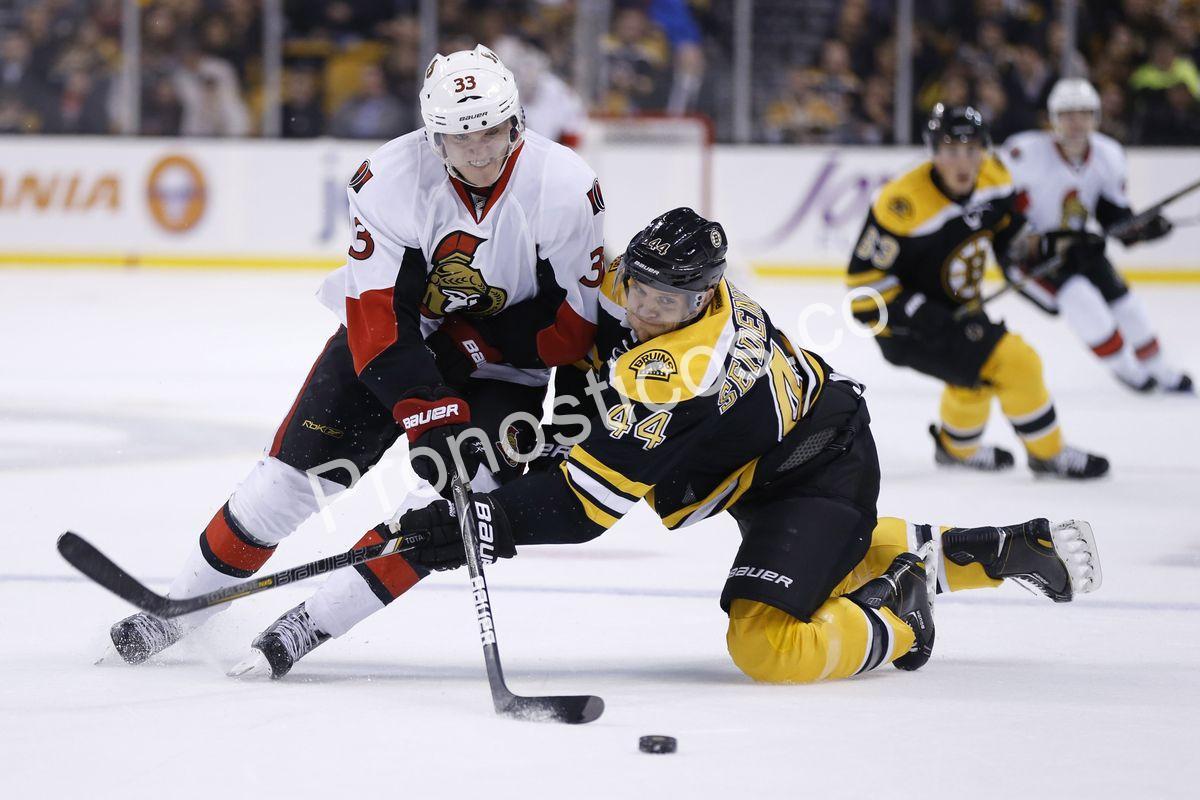 Ottawa Senators vs Boston Bruins Prediccion