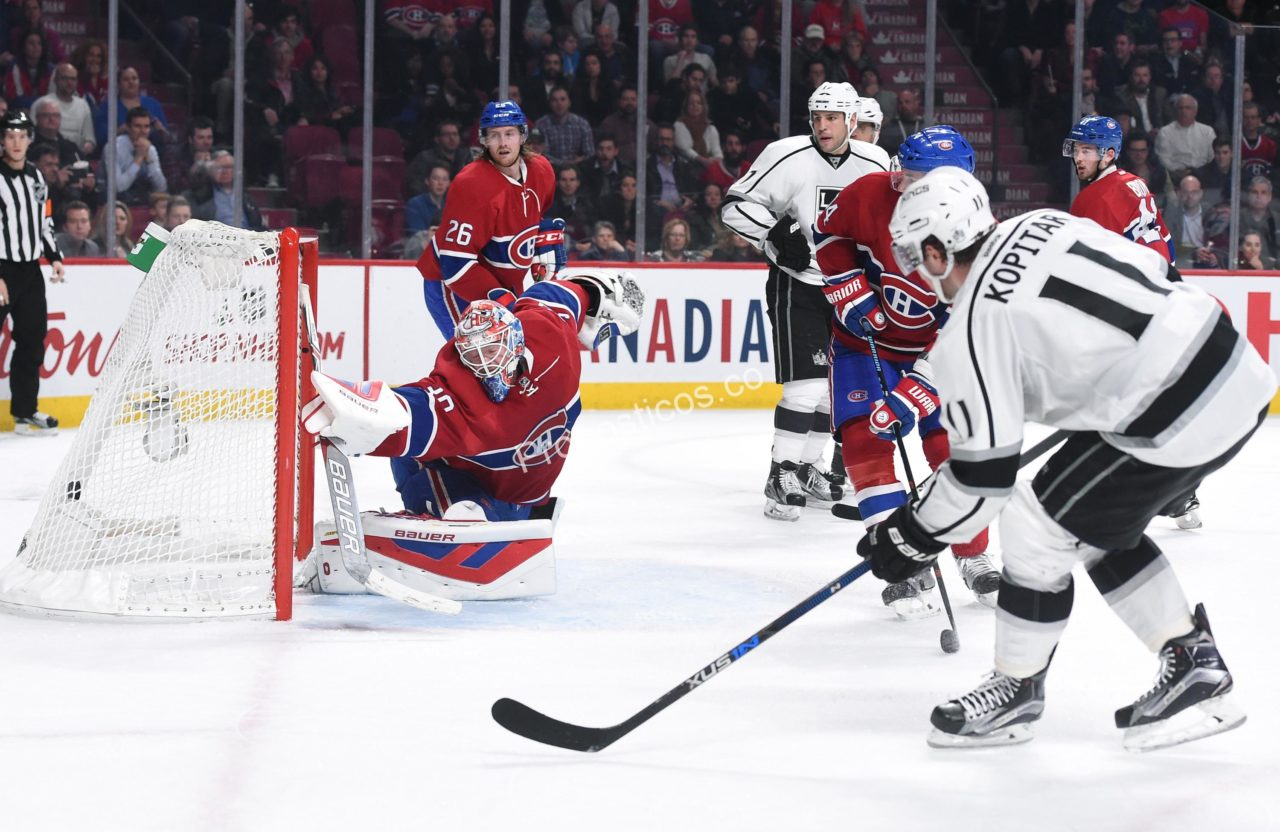 Los Angeles Kings	 vs Montreal Canadiens Prediccion