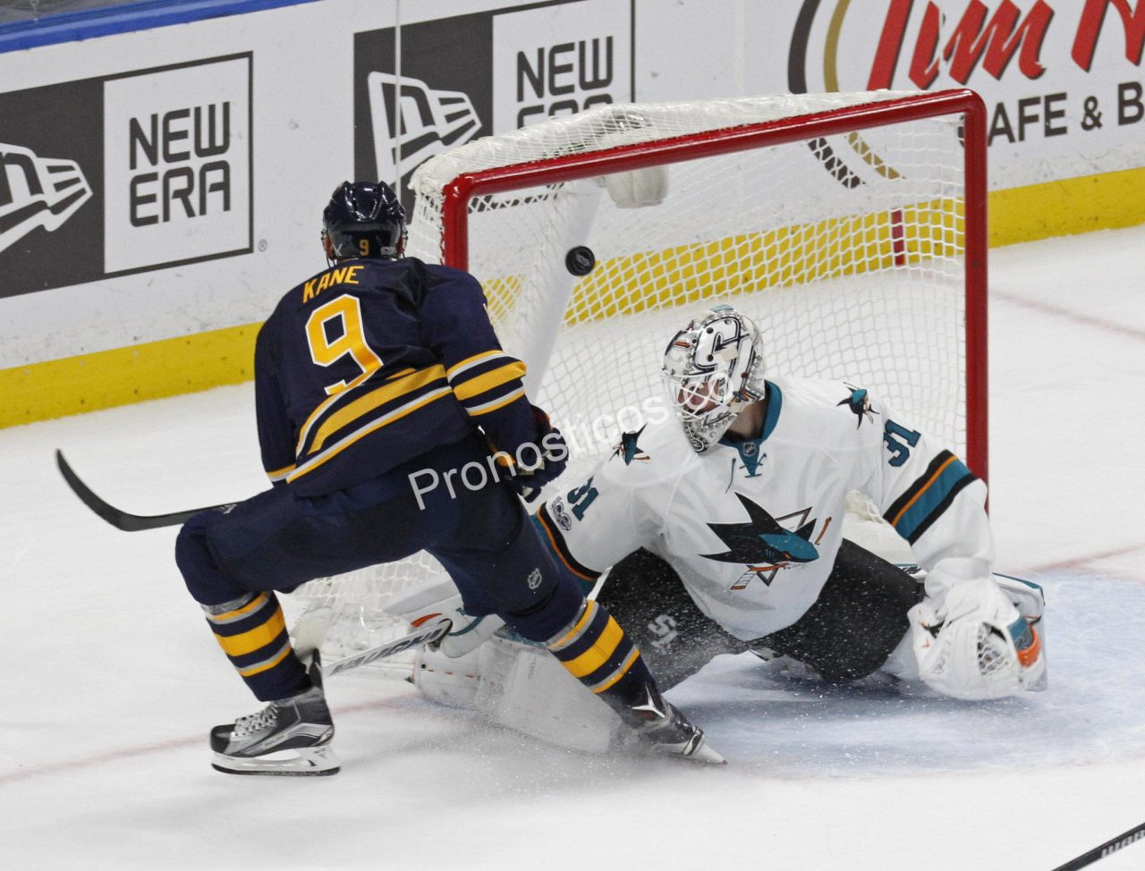 San Jose Sharks	 vs 	Buffalo Sabres Prediccion
