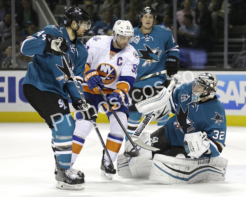 San Jose Sharks vs New York Islanders Prediccion