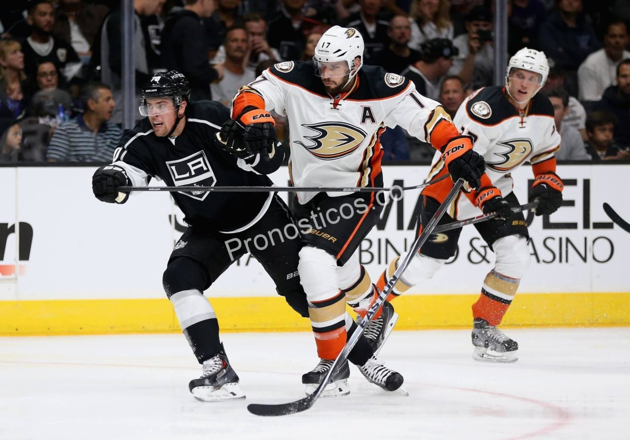 Anaheim Ducks	 vs 	Los Angeles Kings Prediccion