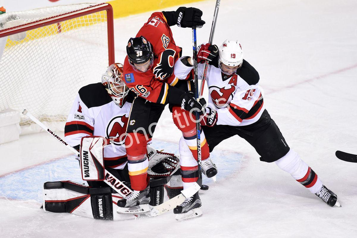 Calgary Flames	 vs 	New Jersey Devils Prediccion