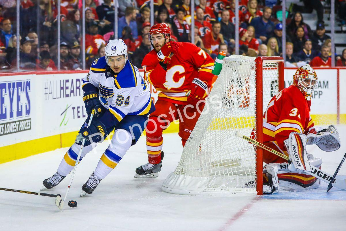 Calgary Flames	 vs 	St. Louis Blues Prediccion