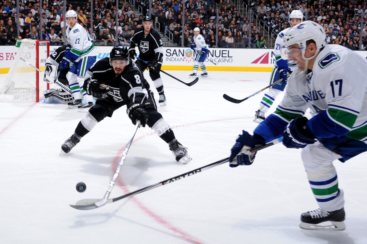 Los Angeles Kings	 vs 	Vancouver Canucks Prediccion