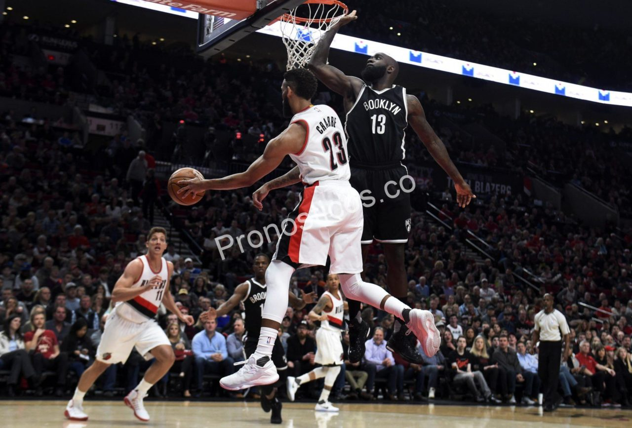 Portland Trail Blazers	 vs 	Brooklyn Nets Prediccion