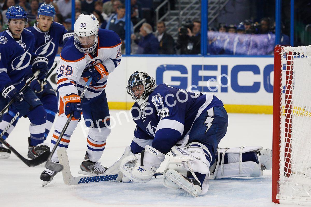 Edmonton Oilers vs Tampa Bay Lightning  Prediccion