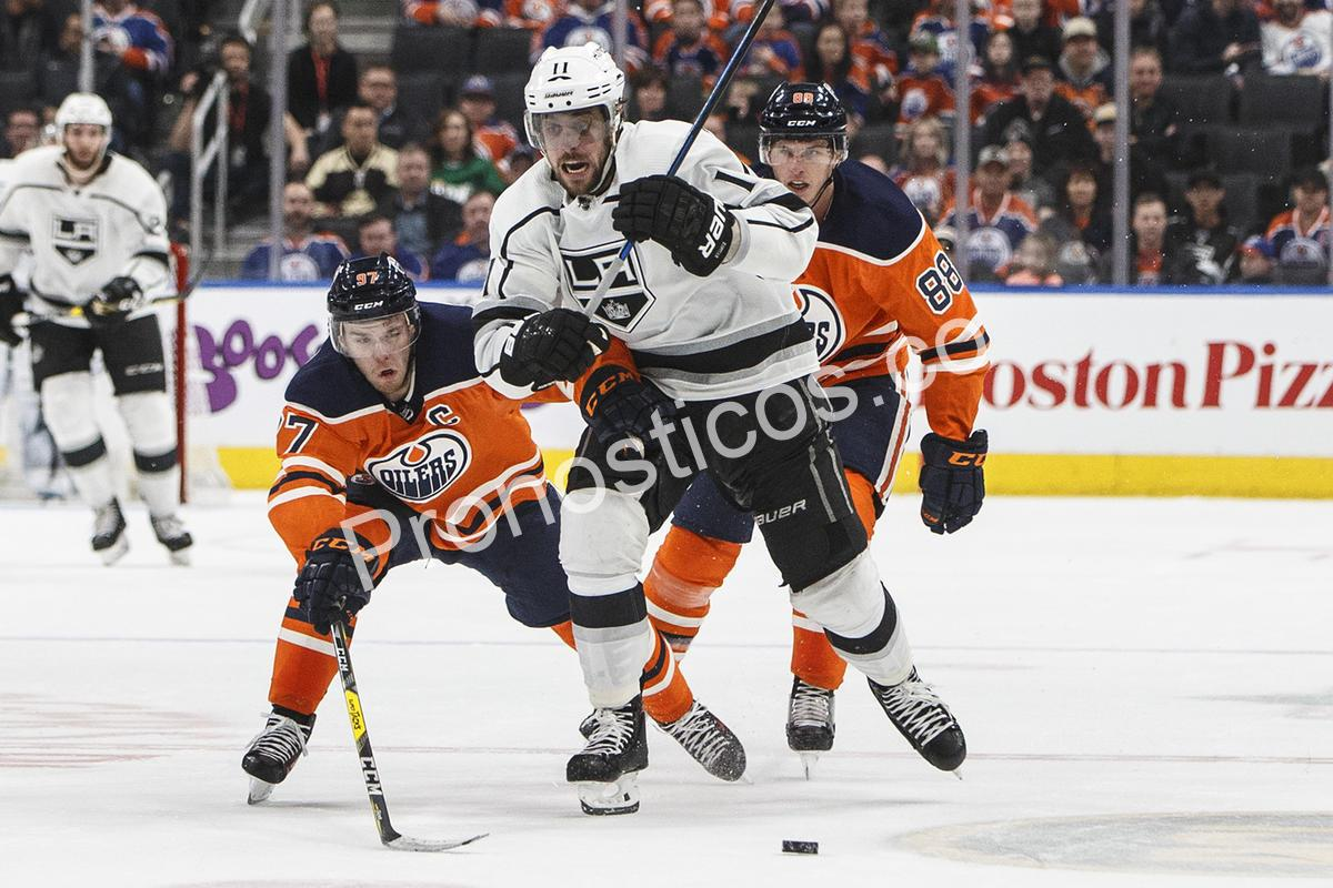 Los Angeles Kings	 vs 	Edmonton Oilers Prediccion