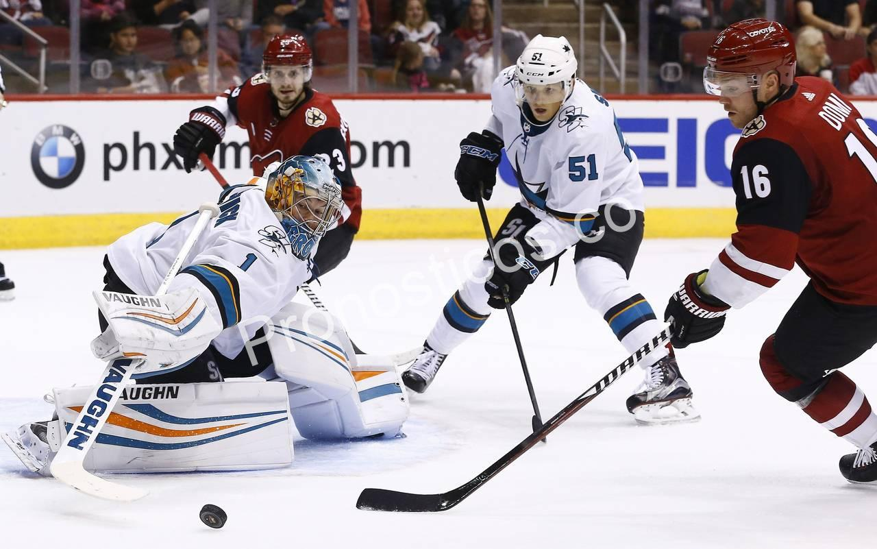 San Jose Sharks	 vs 	Arizona Coyotes Prediccion