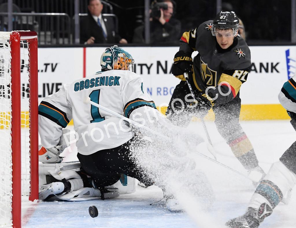 San Jose Sharks vs Vegas Golden Knights Prediccion