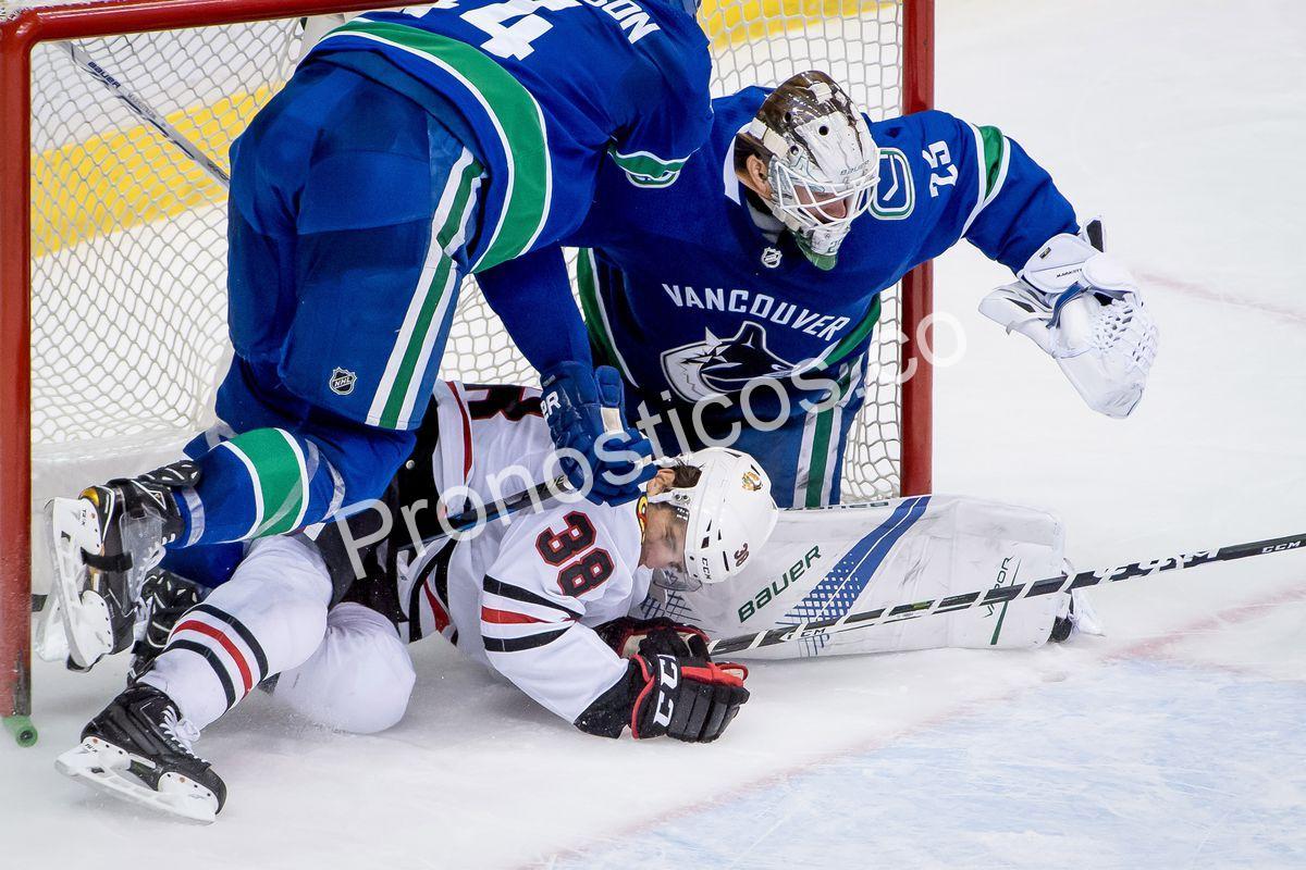 Vancouver Canucks vs Chicago Blackhawks Prediccion