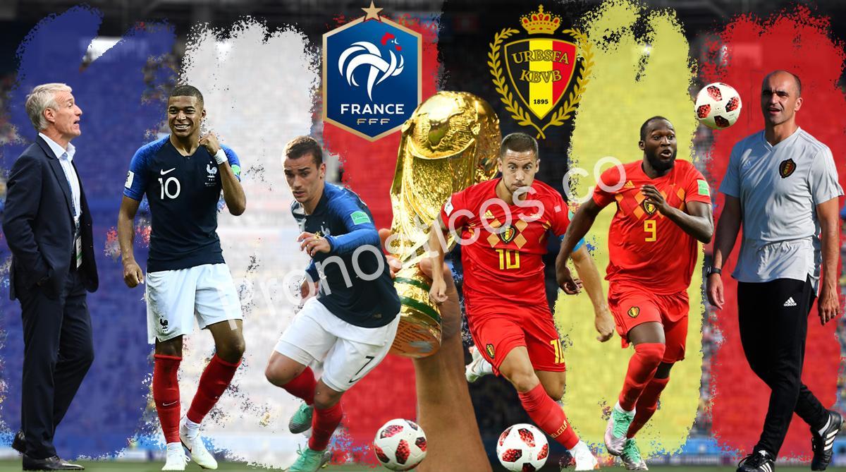 Francia vs Bélgica Prediccion